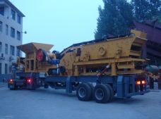 Closed-circuit Portable Crushing Plant