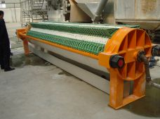Round Plate Filter Press